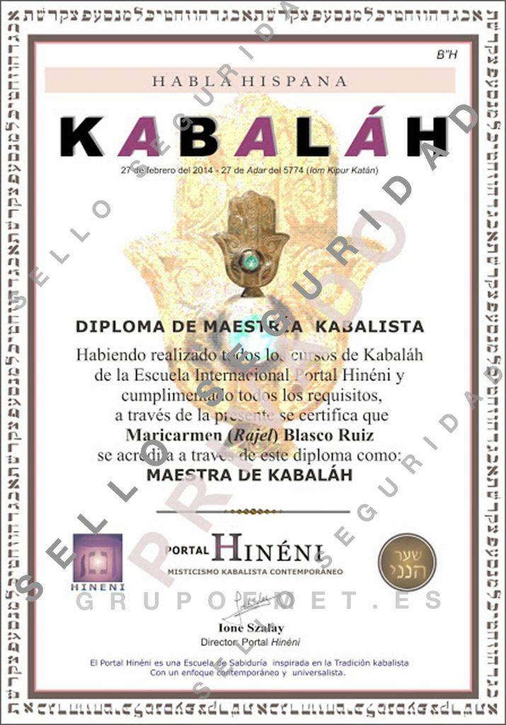 Diploma de Maestría Rajel web