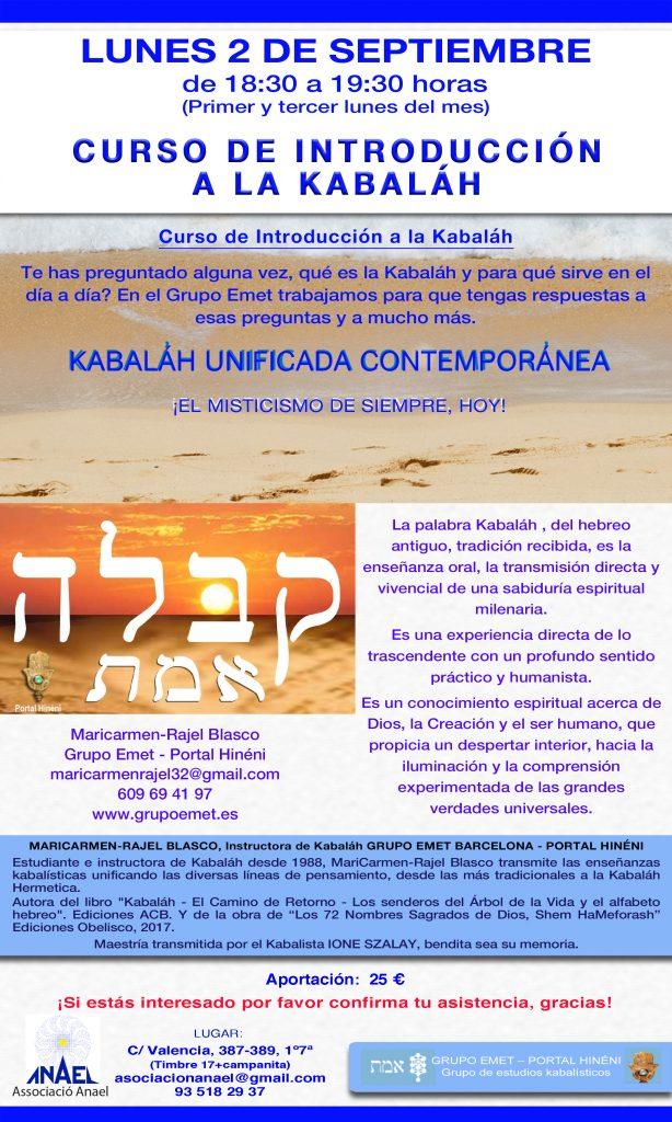 Introducción a la Kabaláh Grupo Emet